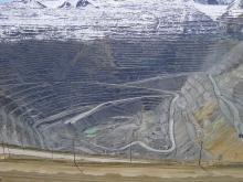 Bingham Canyon Mine in de Verenigde Staten is de diepste open mijn ter wereld, meer dan 1200 meter diep