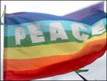 cover PEACE - vlag