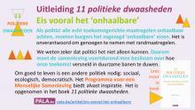 11 politieke dwaasheden | Uitleiding - Eis het onhaalbare